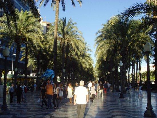 Hotel Maya Alicante: promenade du bord de mer