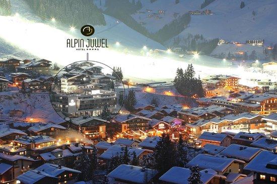direkt an der Piste und im Zentrum von Hinterglemm - Hotel Alpin Juwel