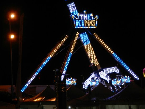 Grand Hotel Salerno: Rides at local fair