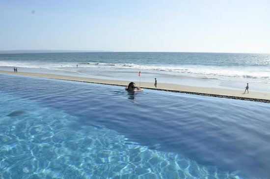 The Legian Bali: Beach and pool view