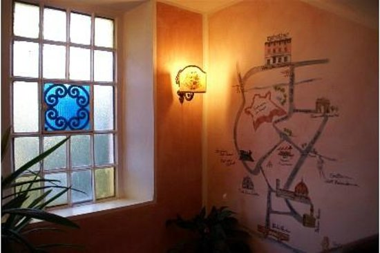 Abatjour B&B: City Map murales