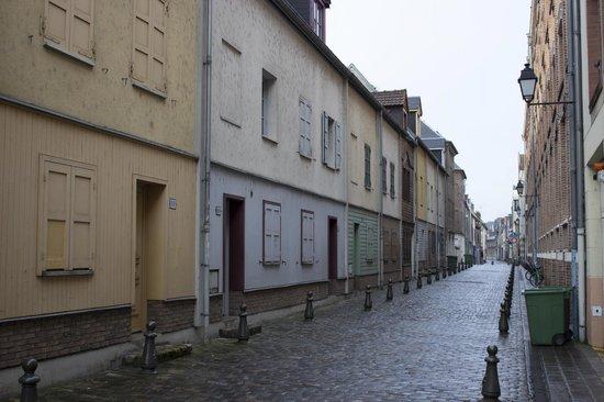 Saint-Leu : old lane