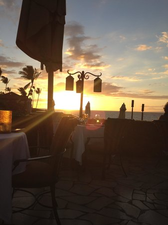 Ferraro's Bar e Ristorante: Sunset