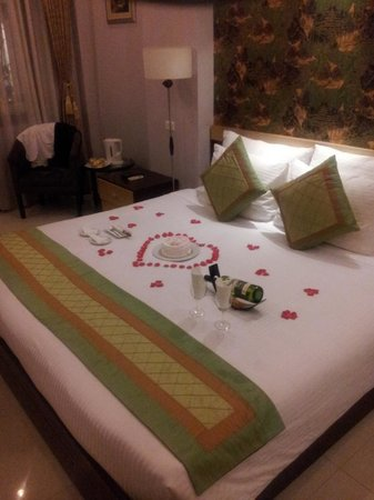 Hanoi City Palace Hotel: This was so sweet of them!