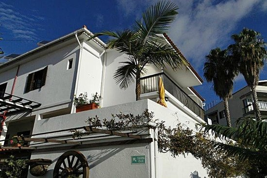 Residencial Vila Lusitania: Balkon zum Zimmer 334....
