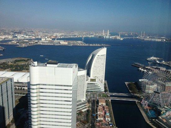 Yokohama Royal Park Hotel: Vistas
