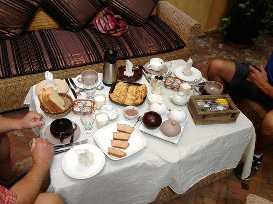 Riad Soleil d'Orient: Fabuleux petit déjeuner