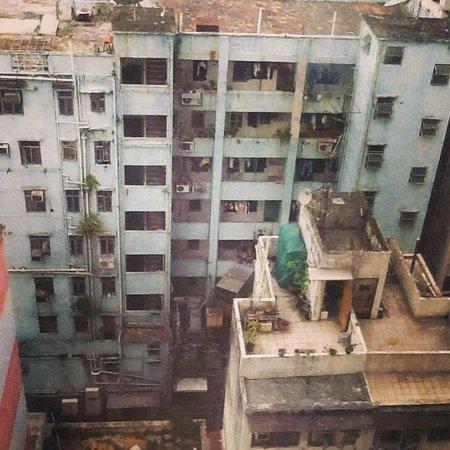 Silka Seaview Hotel : Вид из окна