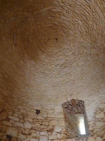 Château de Bonaguil : voûtes en colimaçon