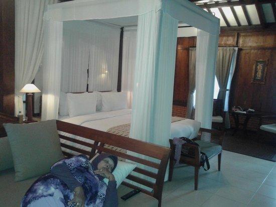 Villa Berawa : this is my mom