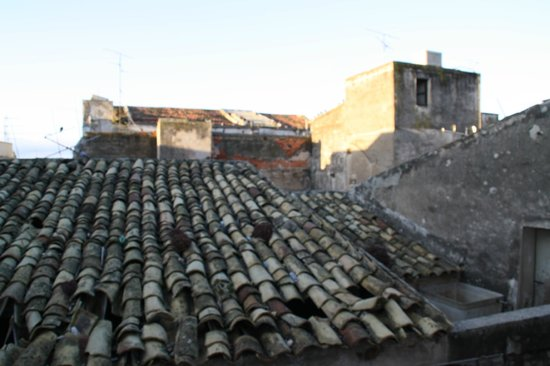 Locanda Al Moro : Vista dal terrazzo nel pieno centro storico di Sciacca, molto caratteristico