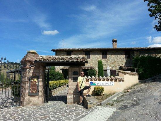 Pappafo Country House: Grande nome per un loclae