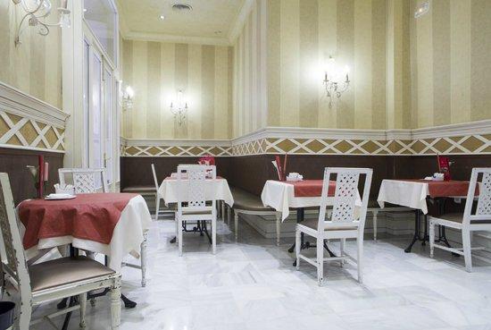 Hotel Las Cortes De Cadiz: Cafetería-Restaurante