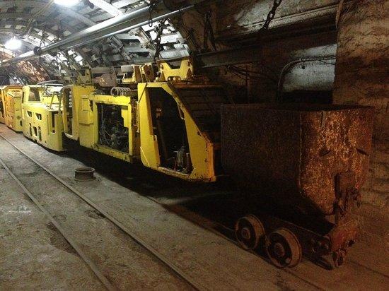 Guido Mine - train
