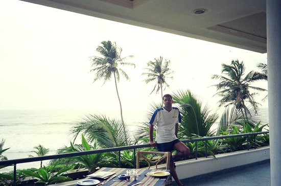 Vivanta by Taj - Bentota: At the Room Balcony!