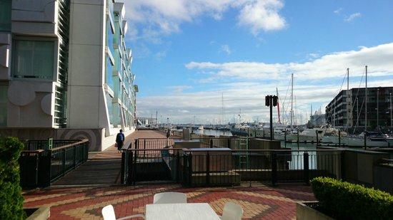 Sofitel Auckland Viaduct Harbour: Outside Hotel