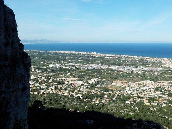 Denia, Spanje: Vista desde el Montgó
