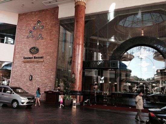 Sunway Resort Hotel & Spa: Entrance