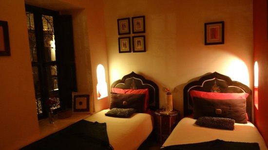 Riad Boussa: room