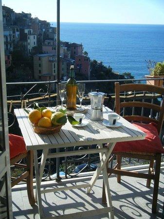 Affittacamere da Cristiana: balcone con bellissima vista mare