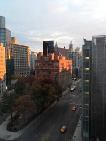 The Standard, East Village: sunrise from our corner room 10th floor
