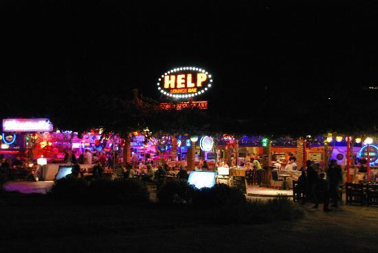 Help Beach Lounge: HELP 29/10/2013