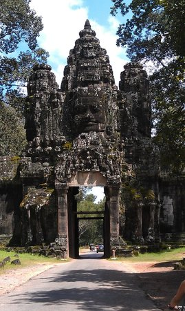 Angkor Cycle - Private Day Tours: Typical entry