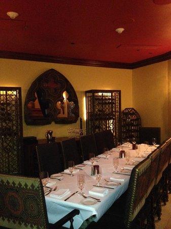 Costa Brava: Private Dining Room