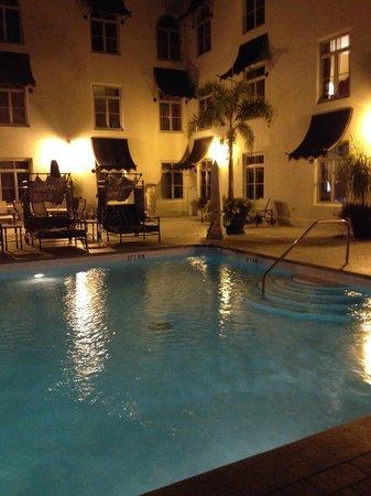 Costa Brava: Pool Deck of hotel
