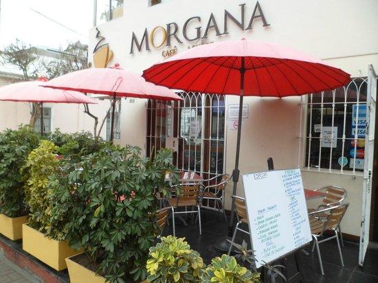 Cafe Morgana: Entrada