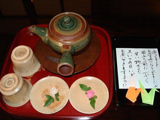Jizoan: 朝食を終えて部屋に戻ってみたら。