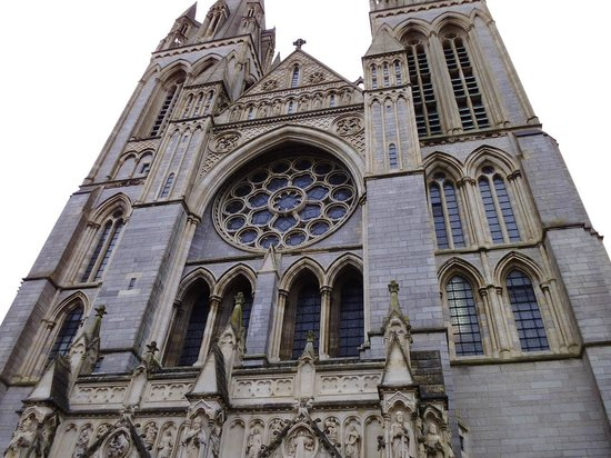 Truro Cathedral: main entrance