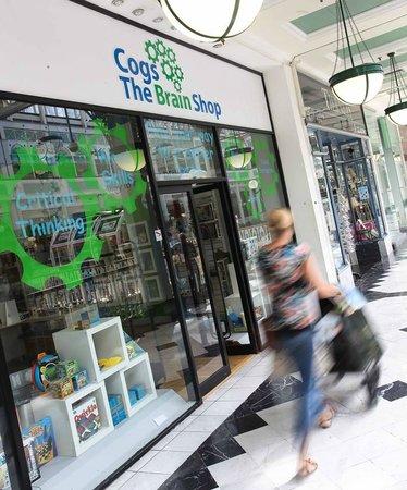 Cogs The Brain Shop: Front of Shop