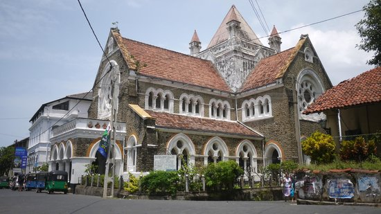 Old Town of Galle and its Fortifications: Church, Galle