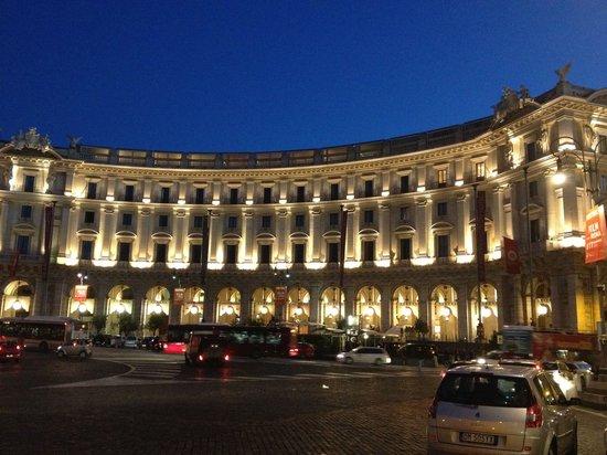 Boscolo Exedra Roma, Autograph Collection: Exedra Rome. Front.