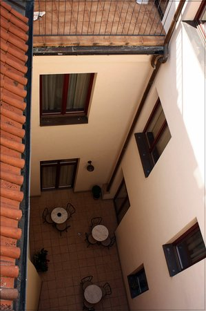 Hotel Dar: Внутренний дворик
