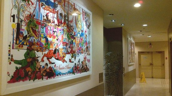 The Listel Hotel Vancouver: More art in the Lobby