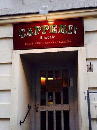 L'entrata di Capperi!