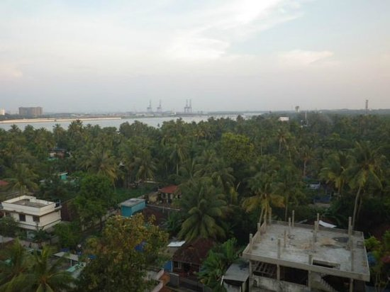 Cochin Seaport Hotel : view from the room