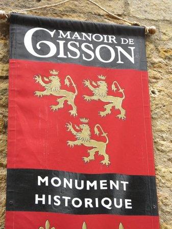 Manoir de Gisson: le blason
