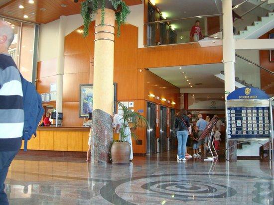 Hotel-Aparthotel Dorada Palace : Холл