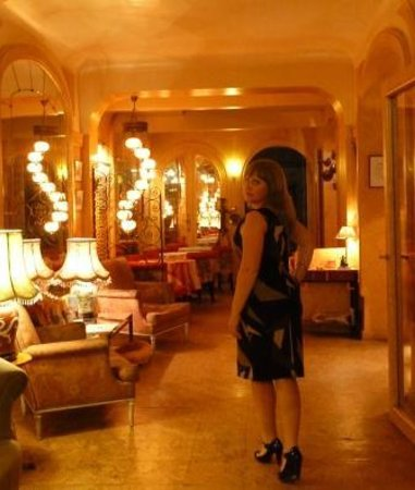 Hotel Bienvenue : Изысканный холл