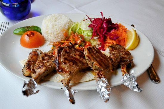 Aspendos : Grilled Lamb Chops Dinner
