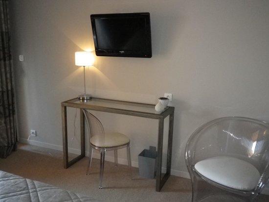 Hôtel Abbartello : Particolare della camera