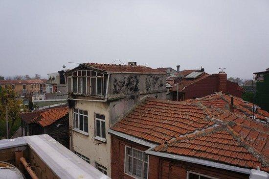 Sirma Sultan Hotel Istanbul: Вид с террасы