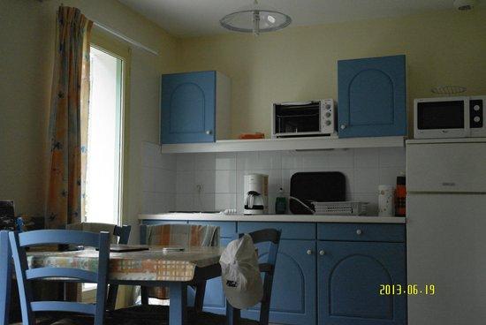Lagrange Confort+ Residence les Masets de Gaujac: coté cuisine