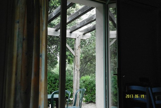 Lagrange Confort+ Residence les Masets de Gaujac: vue sur la terrasse