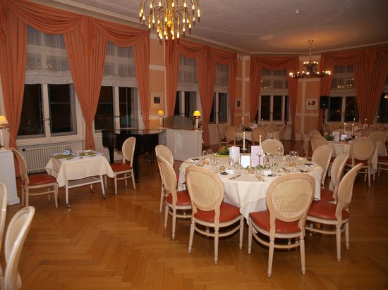 Grand Hôtel des Rasses : la salle Belle-Epoque