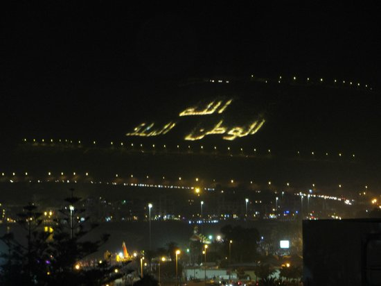 Anezi Tower Hotel: Вид с балкона ателя