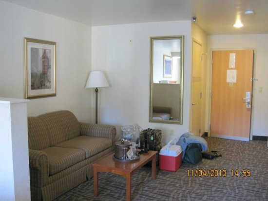 BEST WESTERN PLUS High Sierra Hotel: Sitting Area